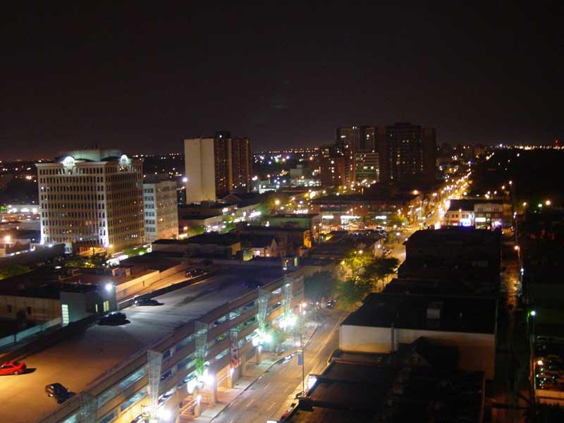 Downtown Windsor Ontario by beezer 800x600