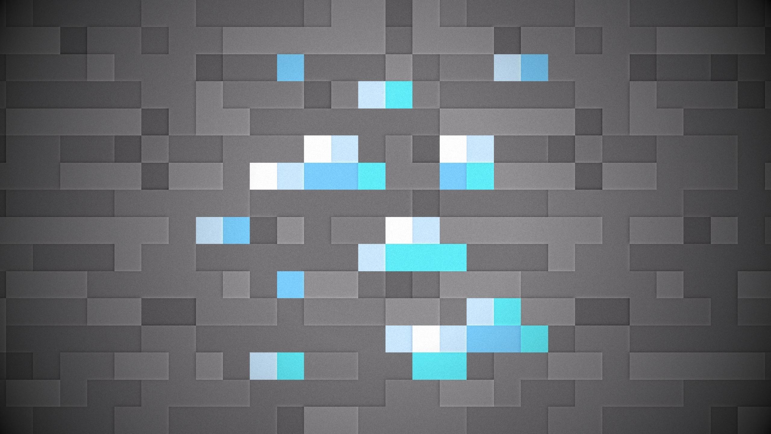 minecraft sprite diamond 1920x1080 wallpaper Art HD Wallpaper download 2560x1440