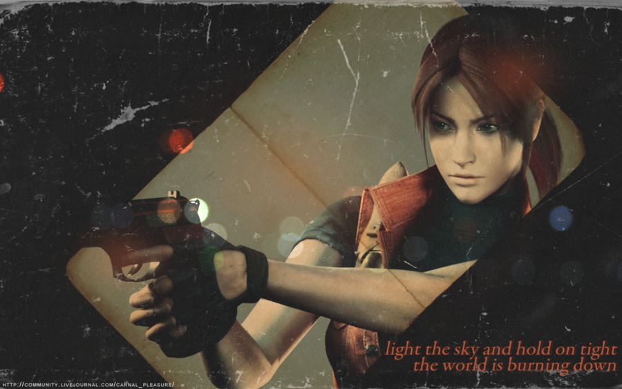 Claire Redfield Wallpaper Light the sky claire redfield 900x563