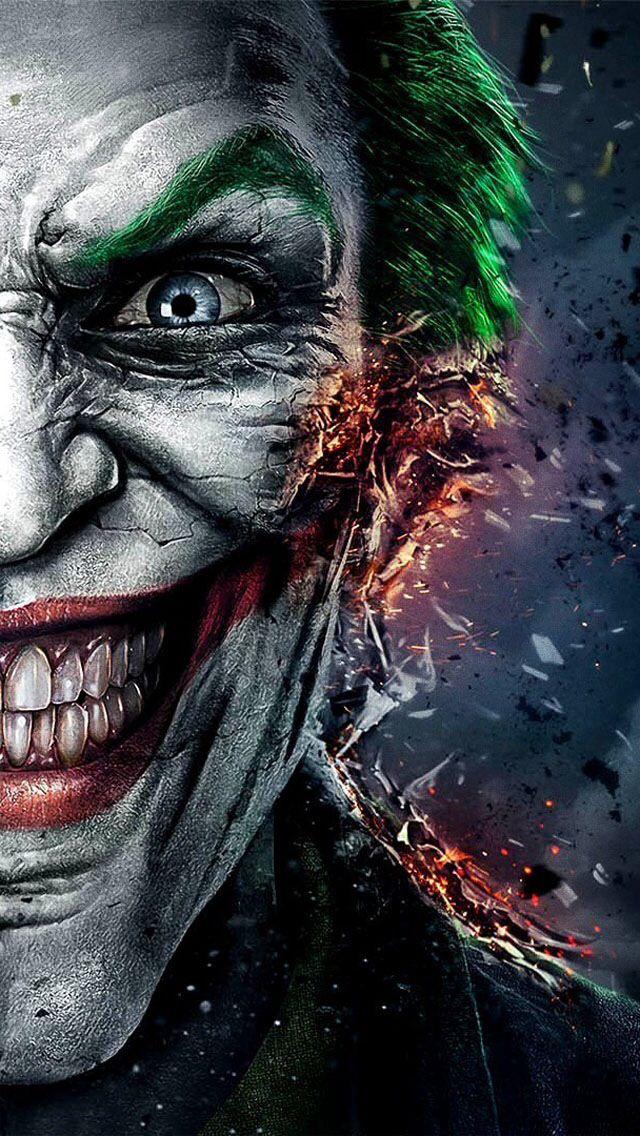 49 The Joker Iphone Wallpaper On Wallpapersafari