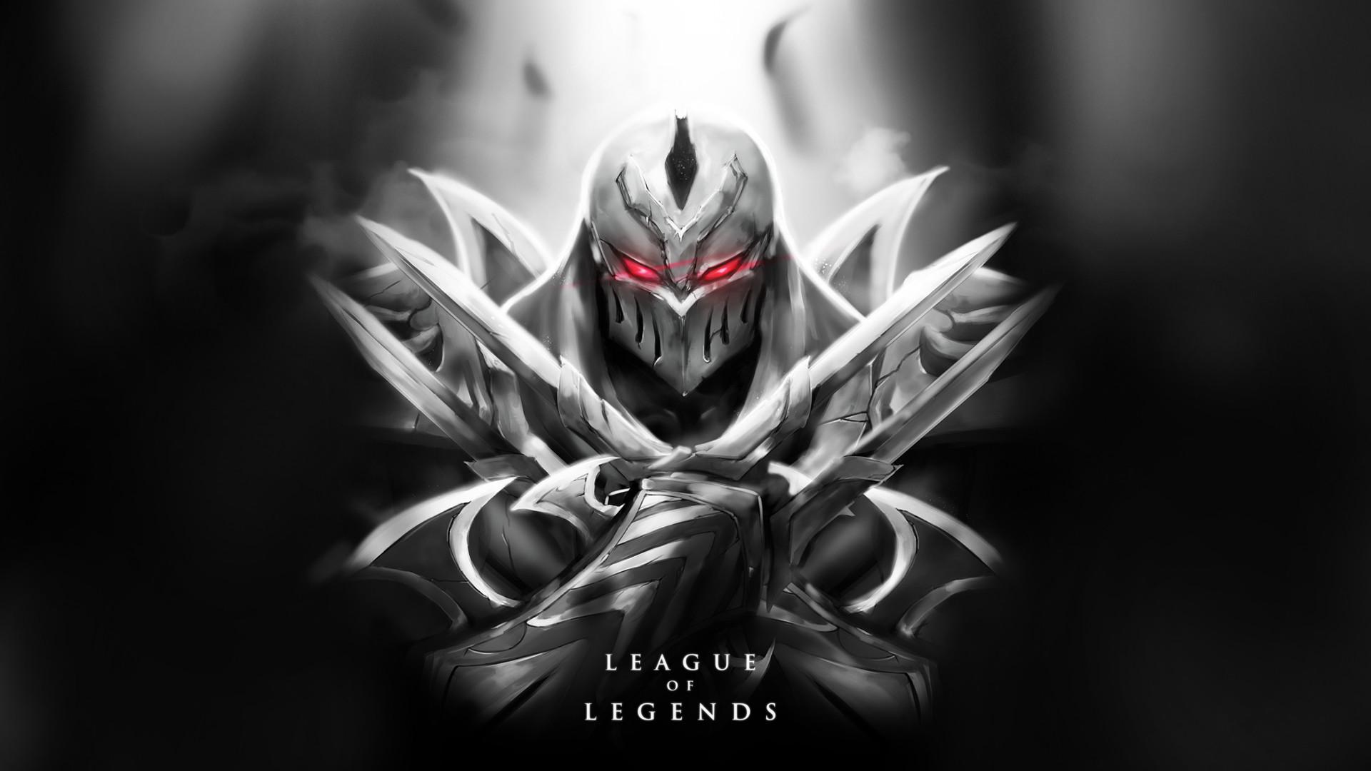 47 League Of Legends Zed Wallpaper On Wallpapersafari