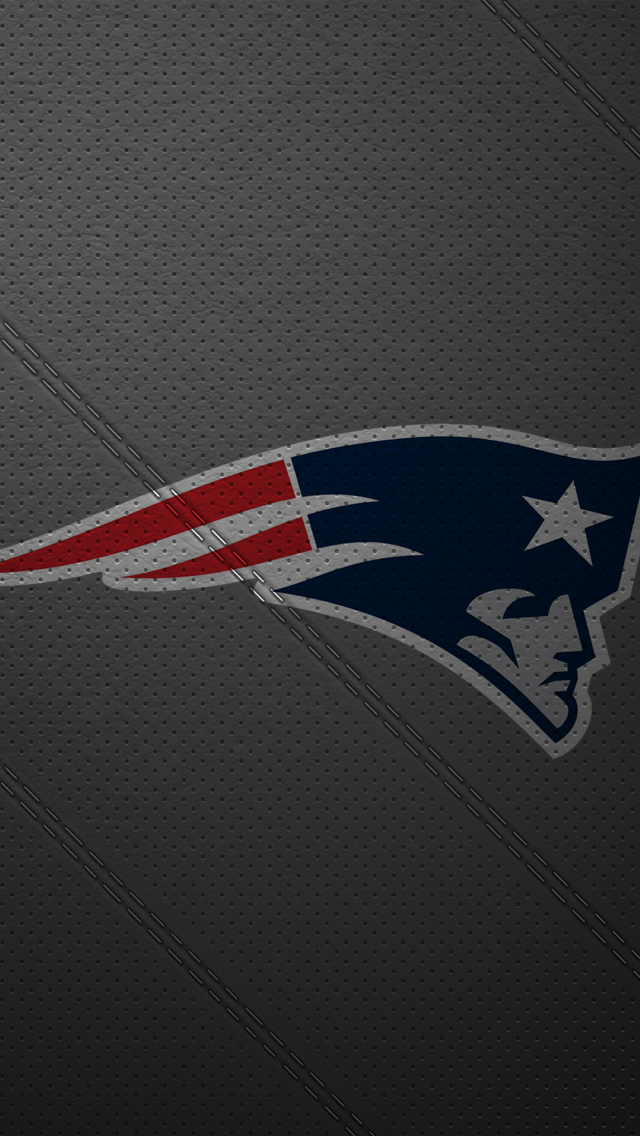 iPhone 5 Wallpaper Leather newengland patriots 640x1136