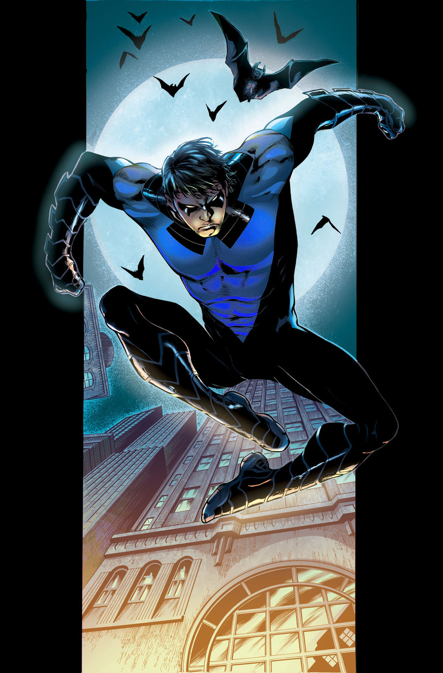 Nightwing New 52 New 52 nightwing recolor by 900x1366