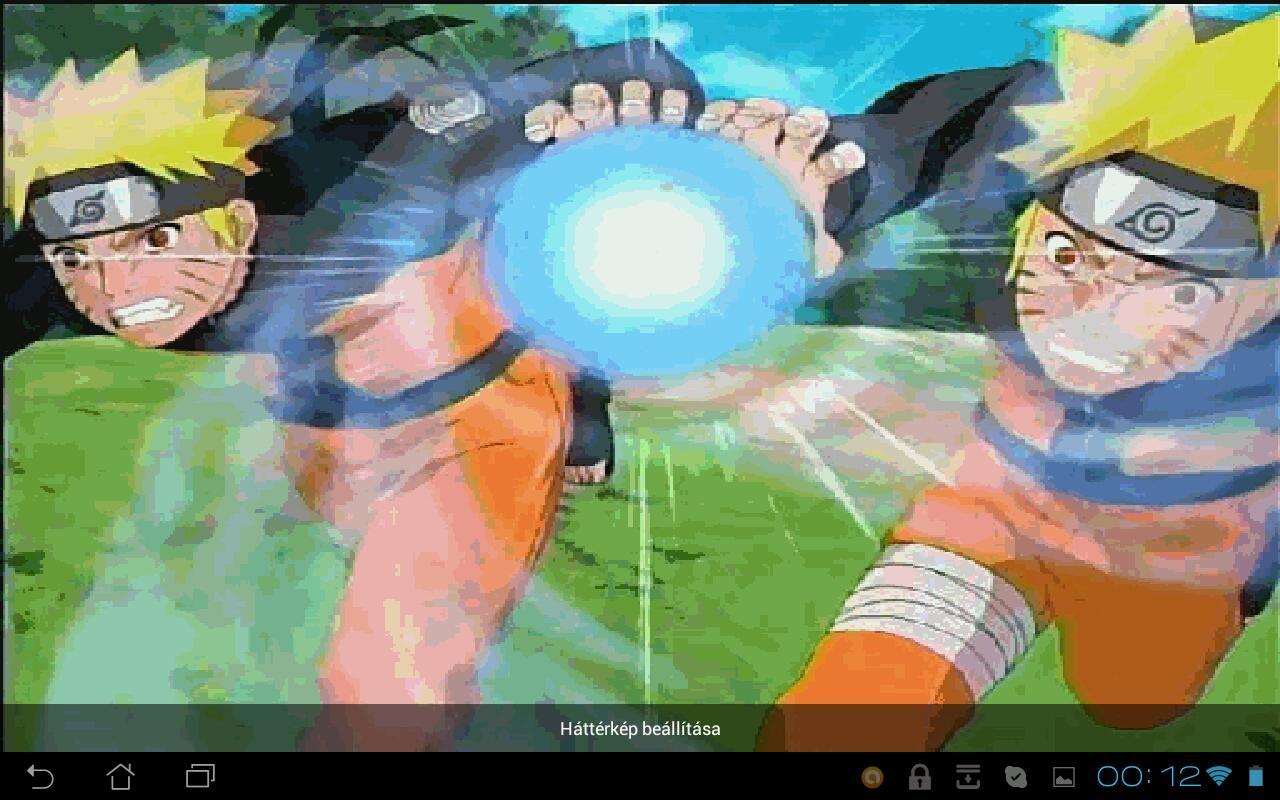 Naruto Rasengan Live Wallpaper   screenshot 1280x800