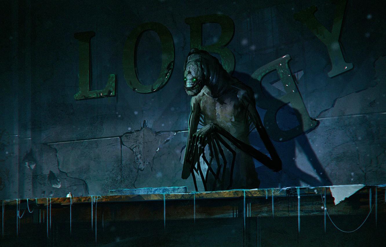 Wallpaper monster art mutant alexiuss romantic apocalyptic 1332x850
