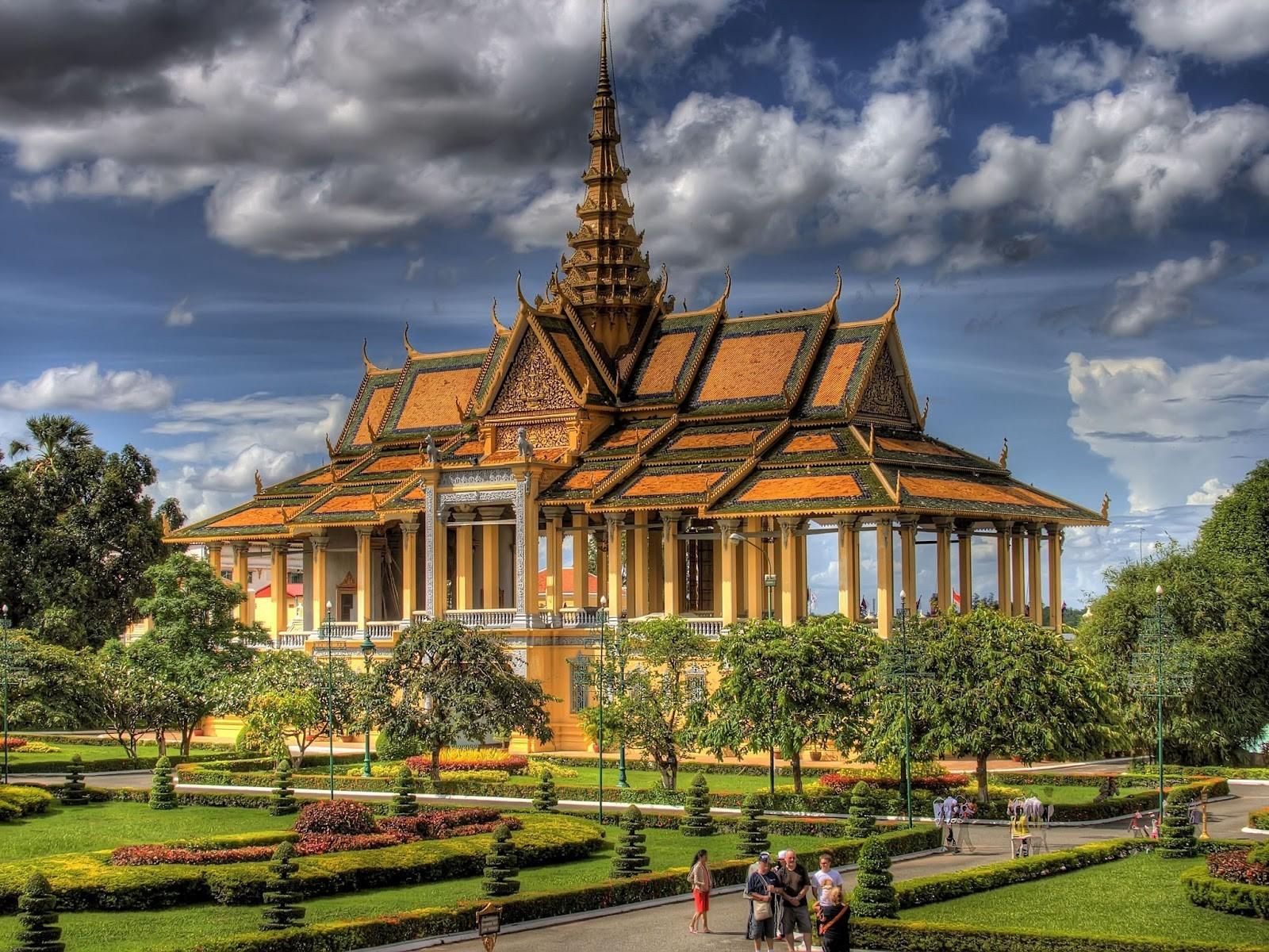 Cambodia Royal Palace Photo HD Wallpapers 1600x1200