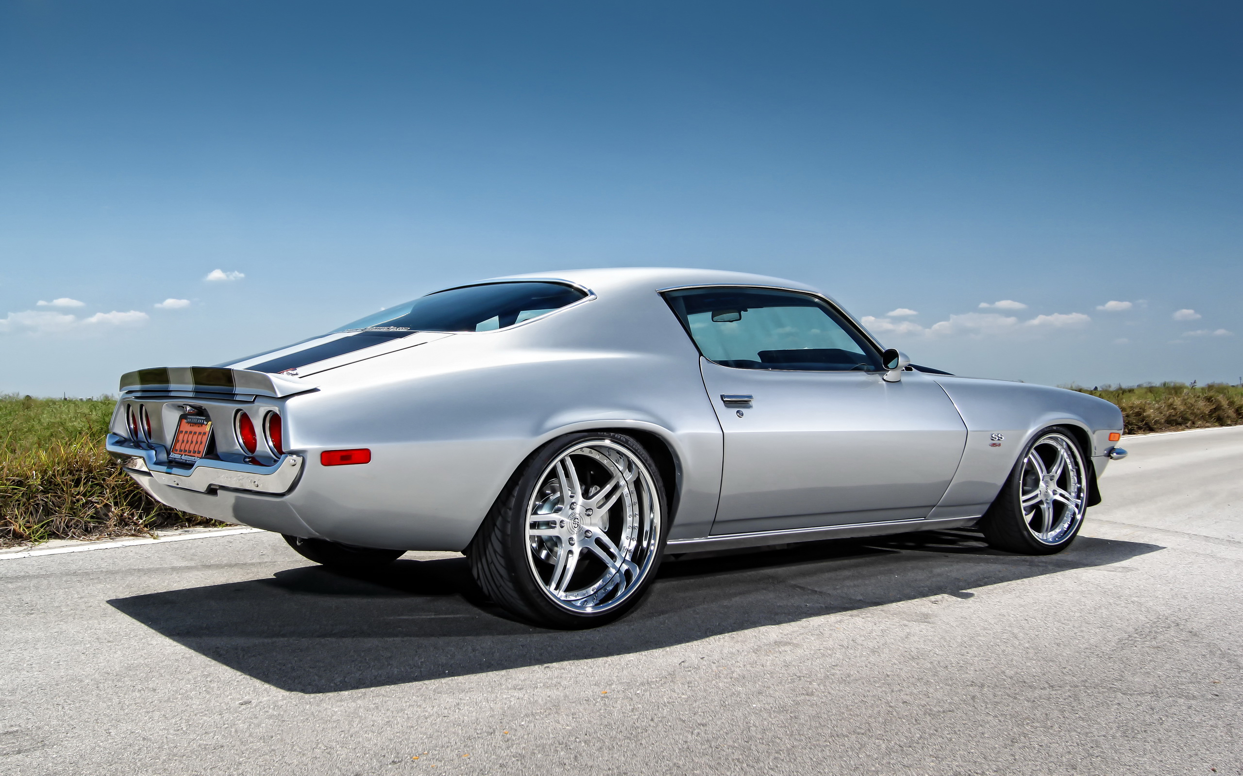 Chevrolet Camaro Chevrolet muscle car hot rods wallpaper 2560x1600 2560x1600