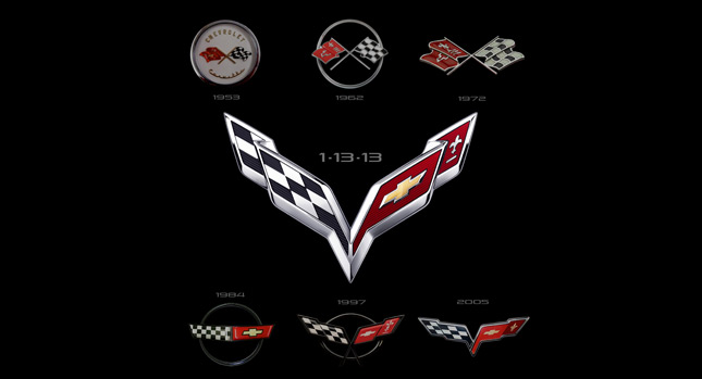 Chevrolet Releases 2014 Corvette C7 Logo and Dedicated Website will 645x349