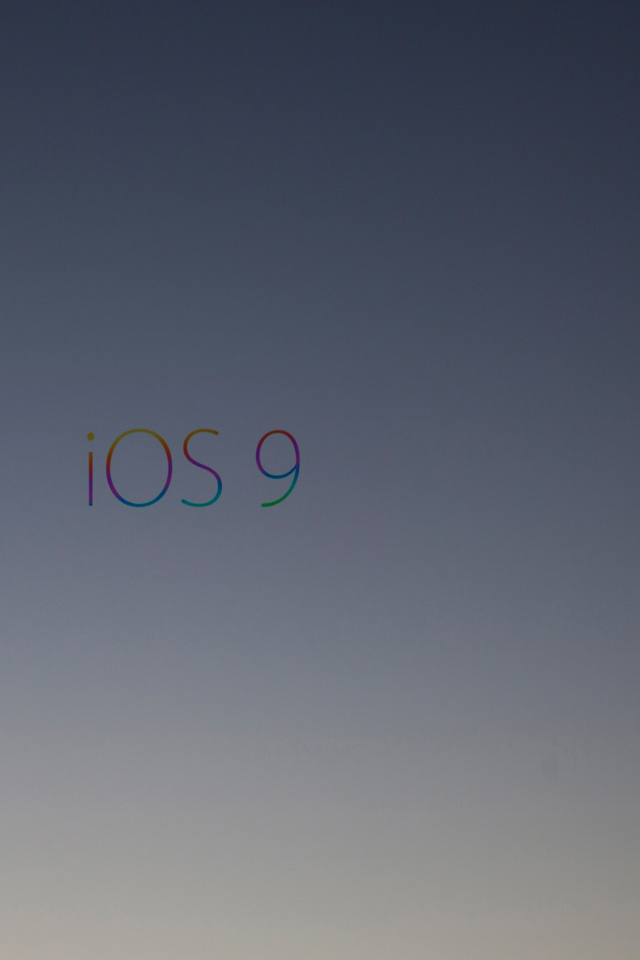 iOS9 Gradient iPhone Wallpaper HD