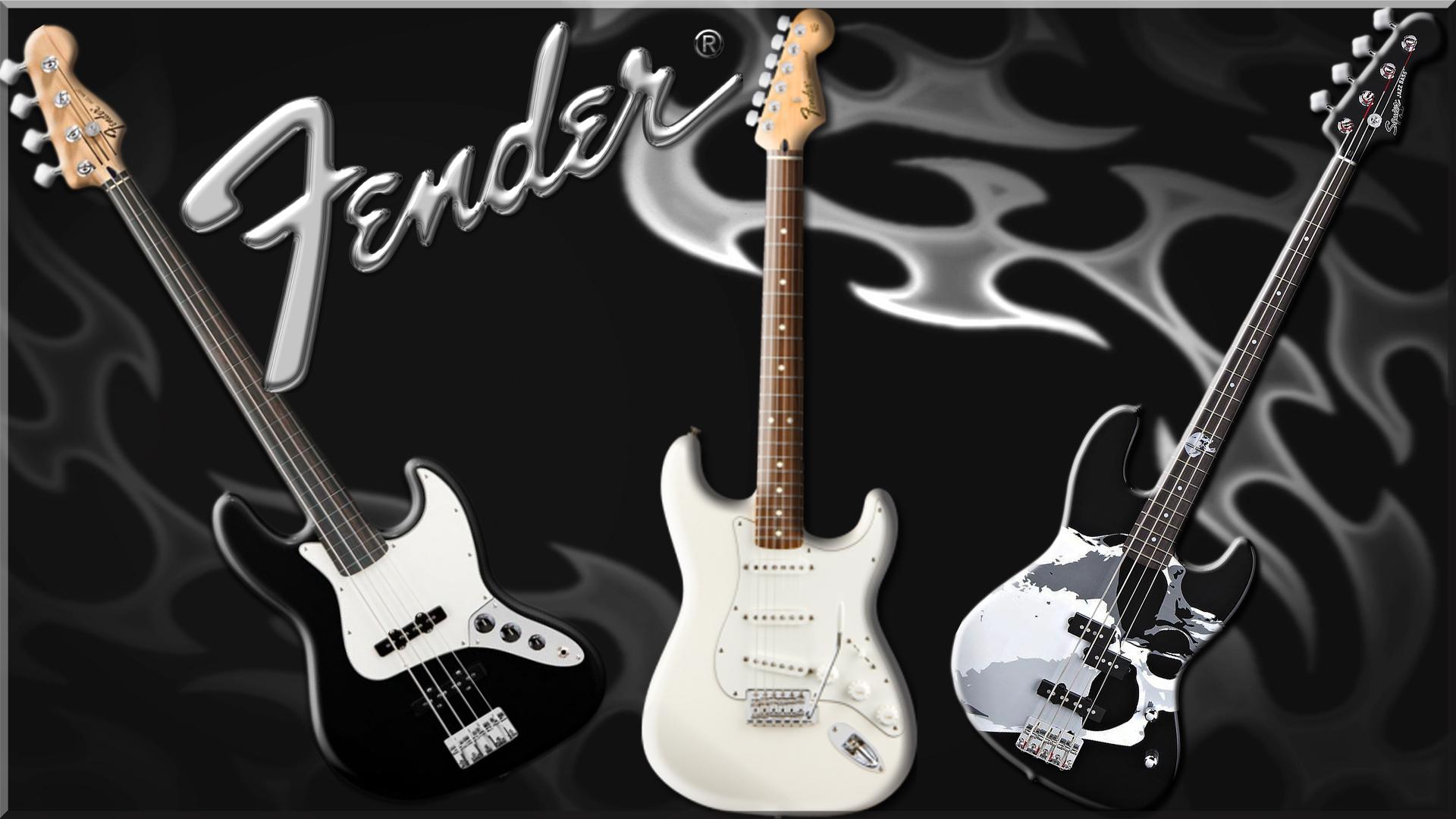Fender Guitars Computer Wallpapers Desktop Backgrounds 1920x1080