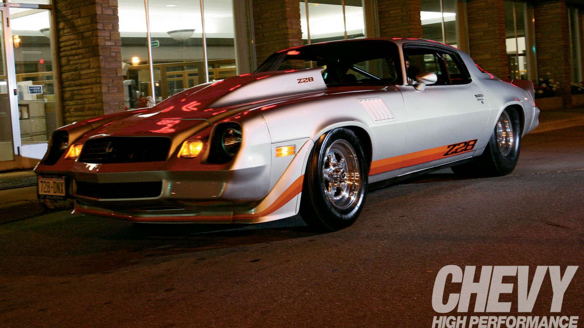 Wallpaper 1979 Chevrolet Camaro Z28 White Strip Yellow Upload at May 1920x1080