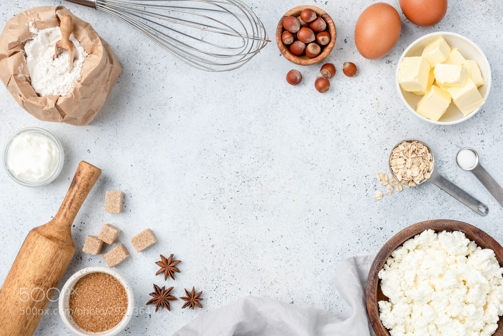 Baking concept baking ingredients on background Baking concept 2048x1367