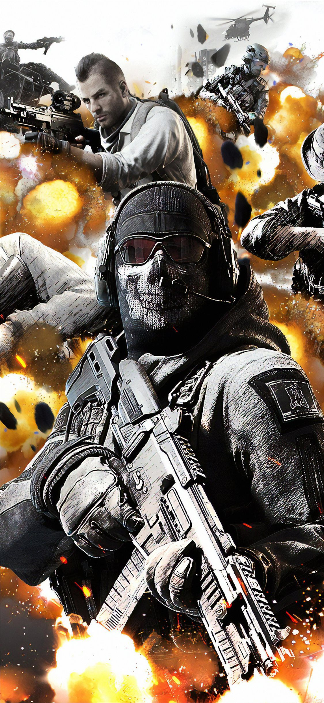 download the call of duty mobile 4k wallpaper beaty your 1125x2436