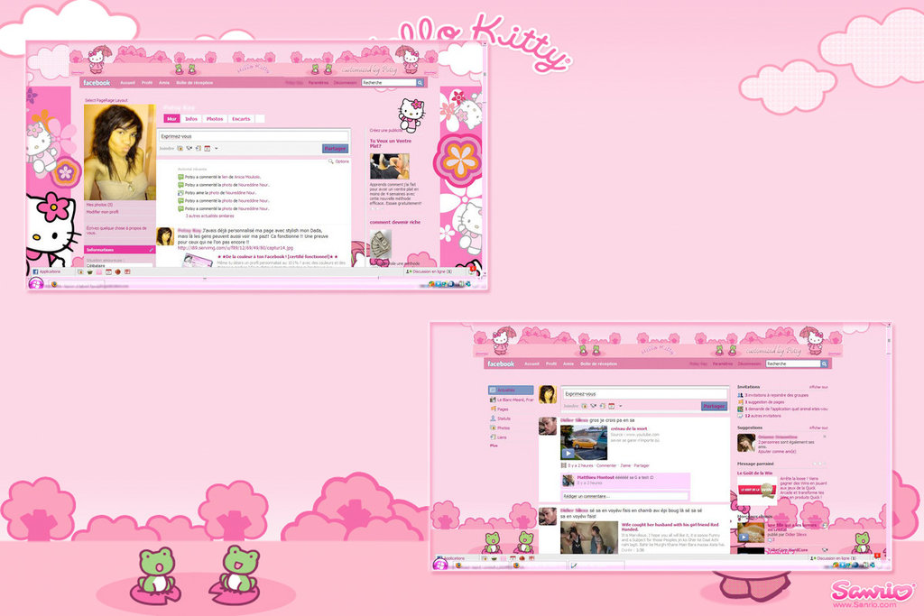 wallpapercomphotohello kitty screensavers and wallpapers34html 1024x683
