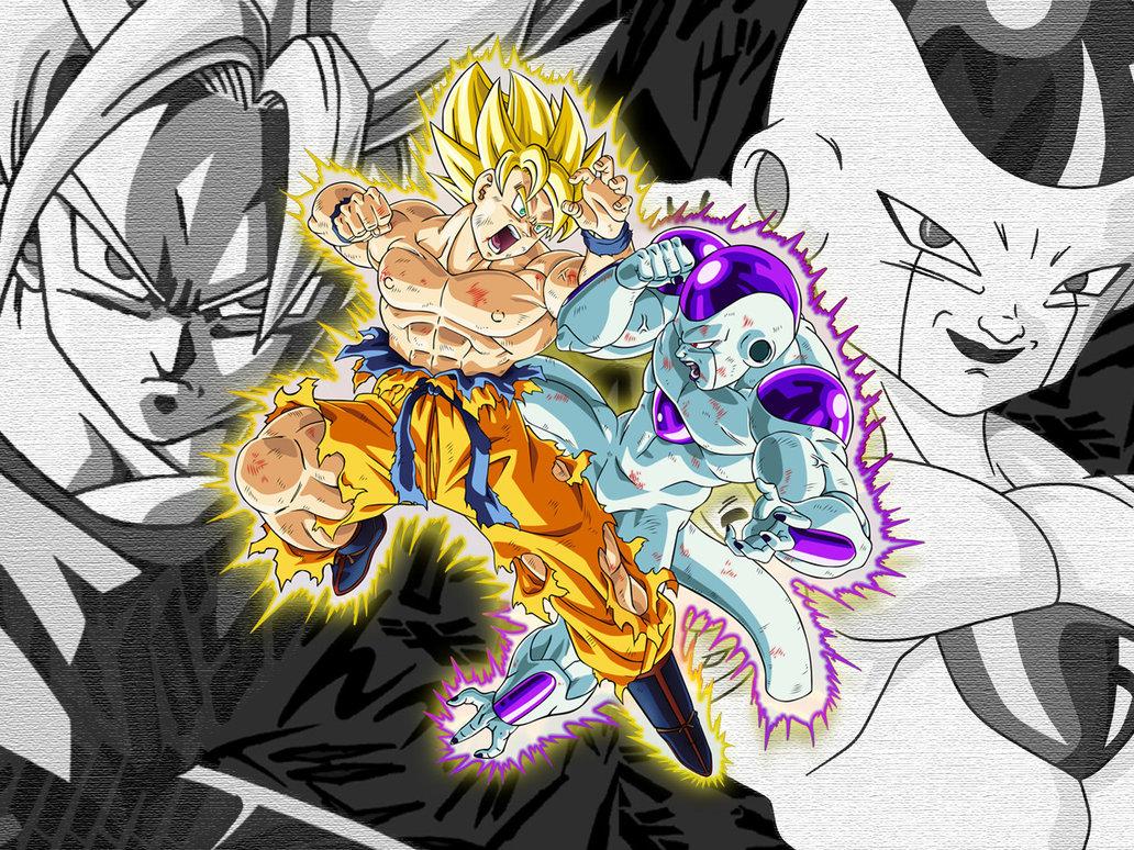 Free Download Freeza Vs Goku Para Colorir Desenhos Para Colorir