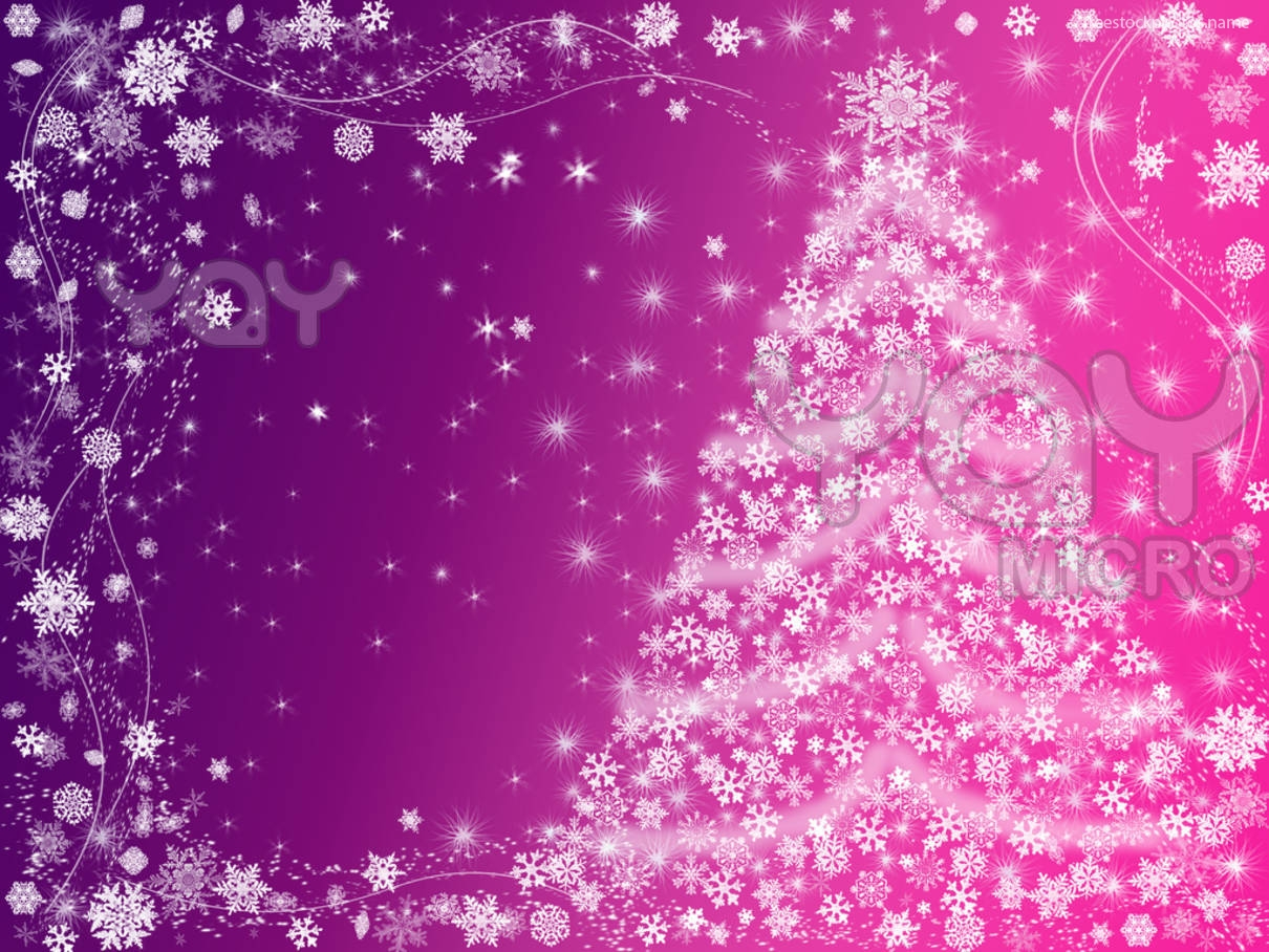 Pink Christmas Wallpaper on WallpaperSafari