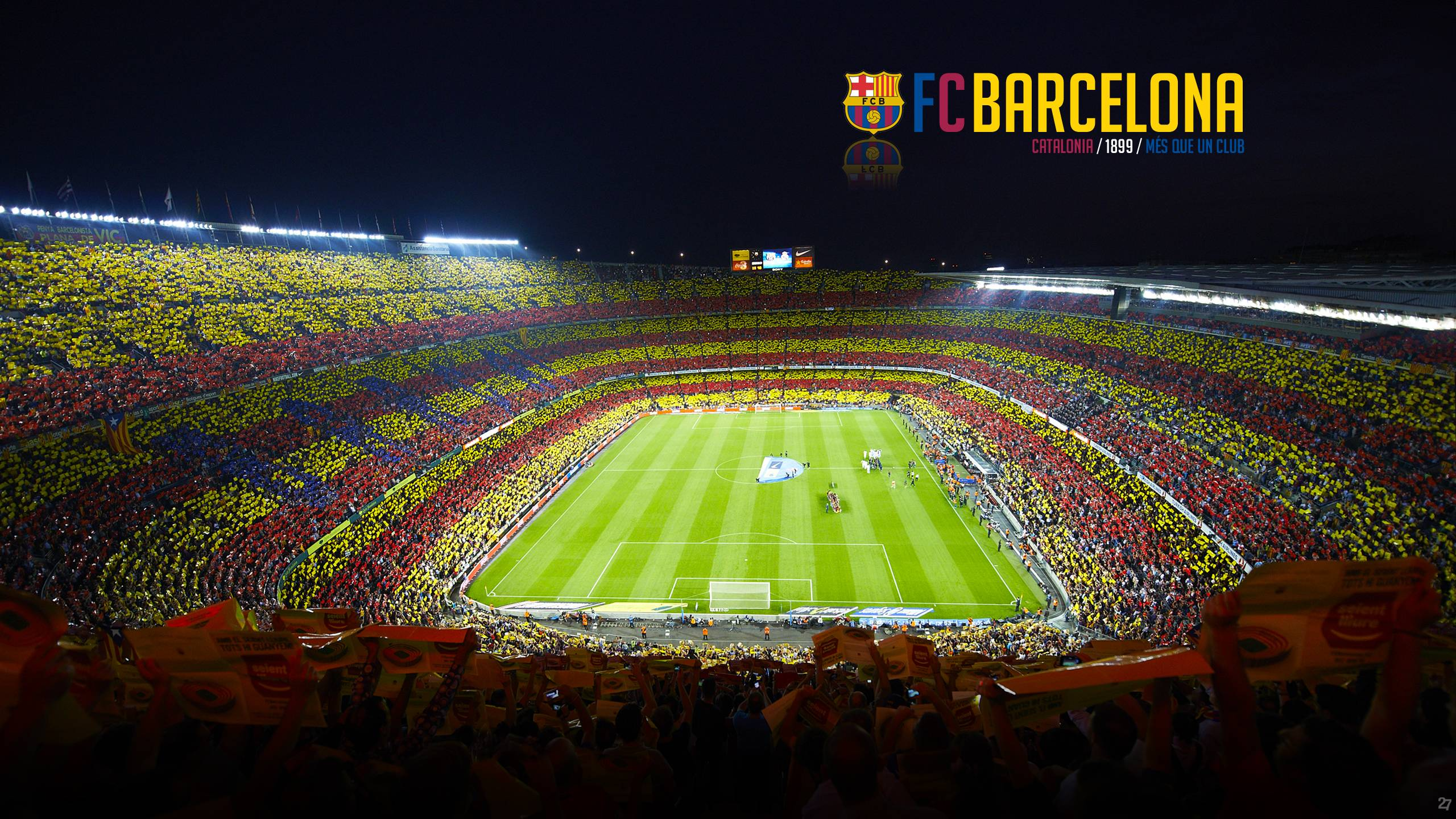 Camp Nou Wallpapers 2560x1440