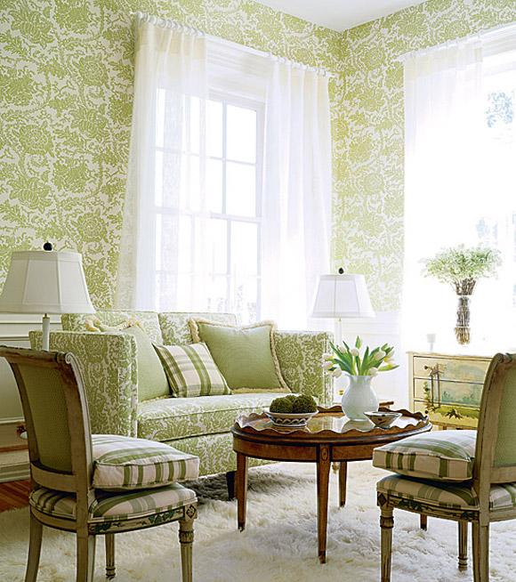 Wallpaper Interior Design Ideas HomeIzycom 580x654