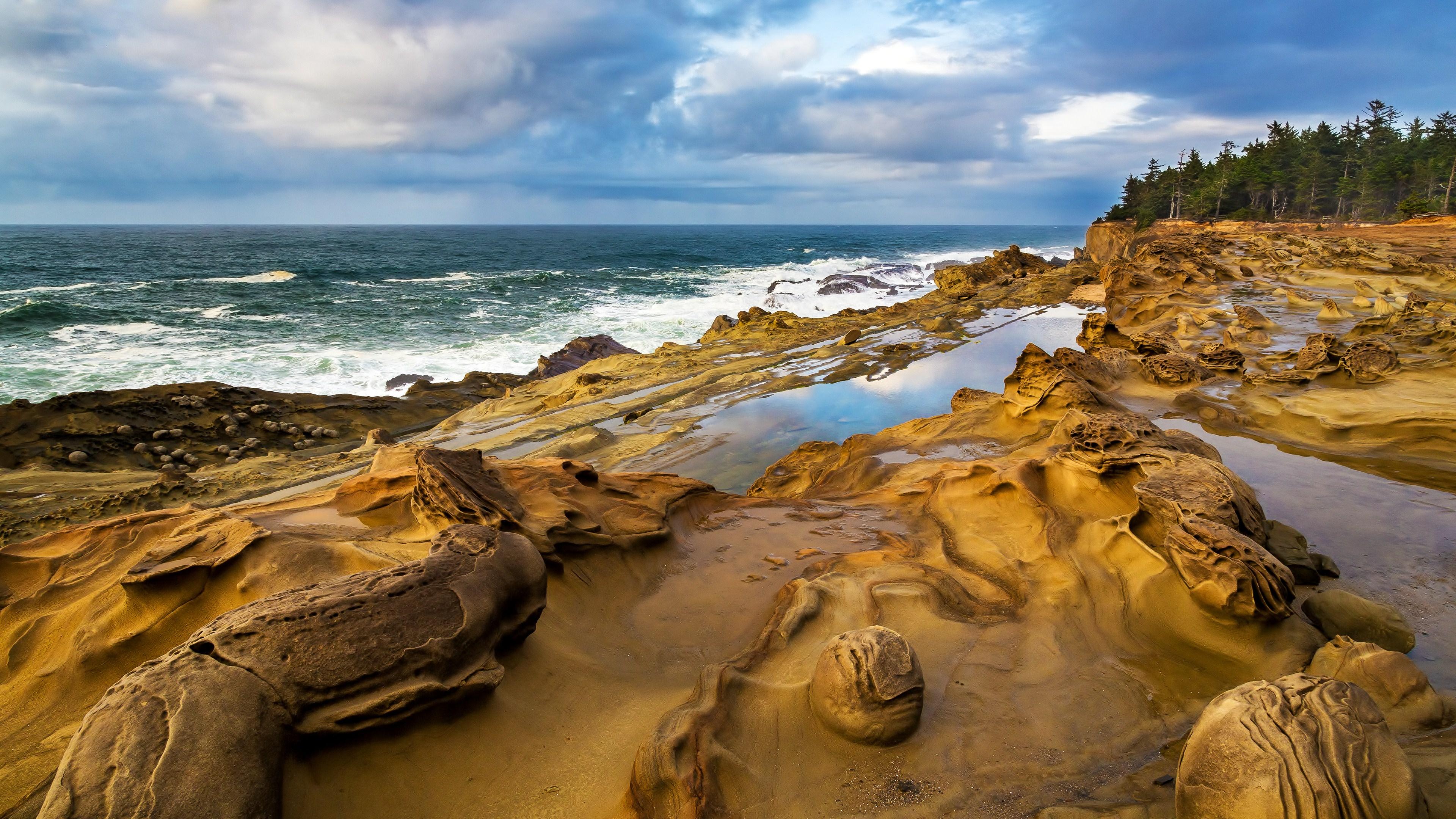 Ocean Scenery 4K Wallpaper Full 1080p Ultra HD Wallpapers 3840x2160