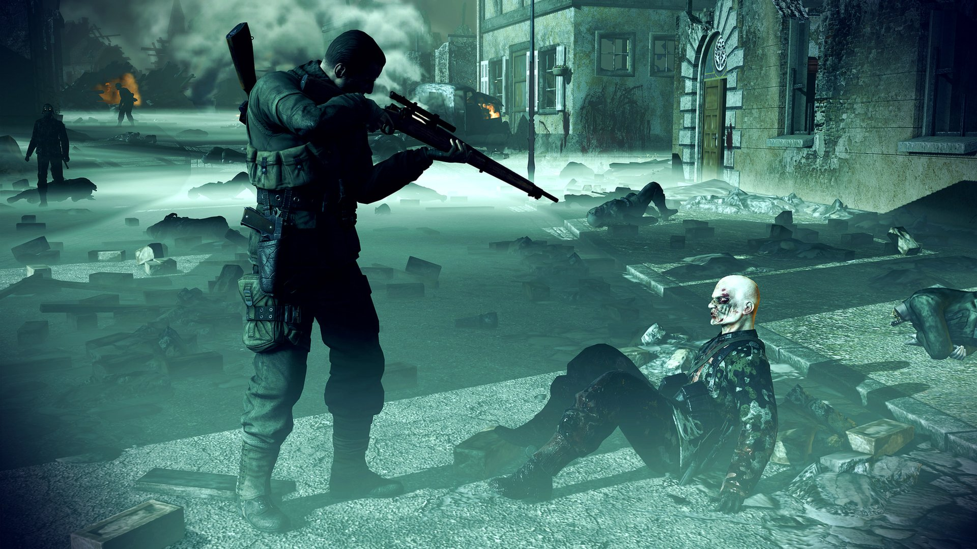 12 Sniper Elite Nazi Zombie Army HD Wallpapers Background 1920x1080