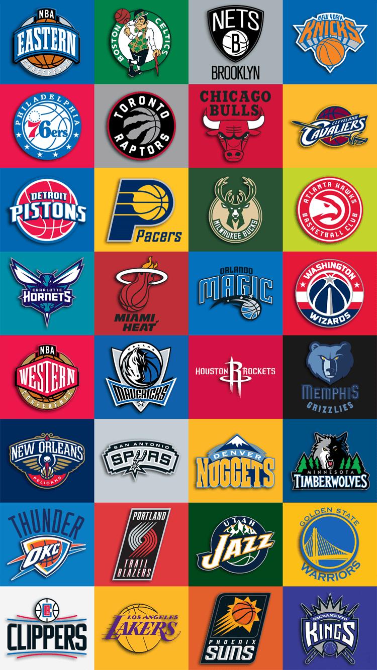 95+ Nba Team Logos Wallpaper 2017 on WallpaperSafari