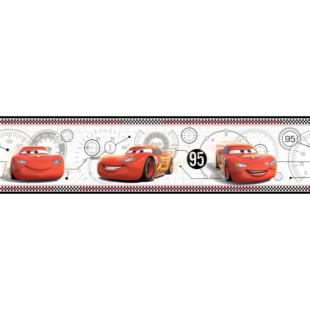 Disney Cars Wallpaper Border Illustrazion 1000x1000