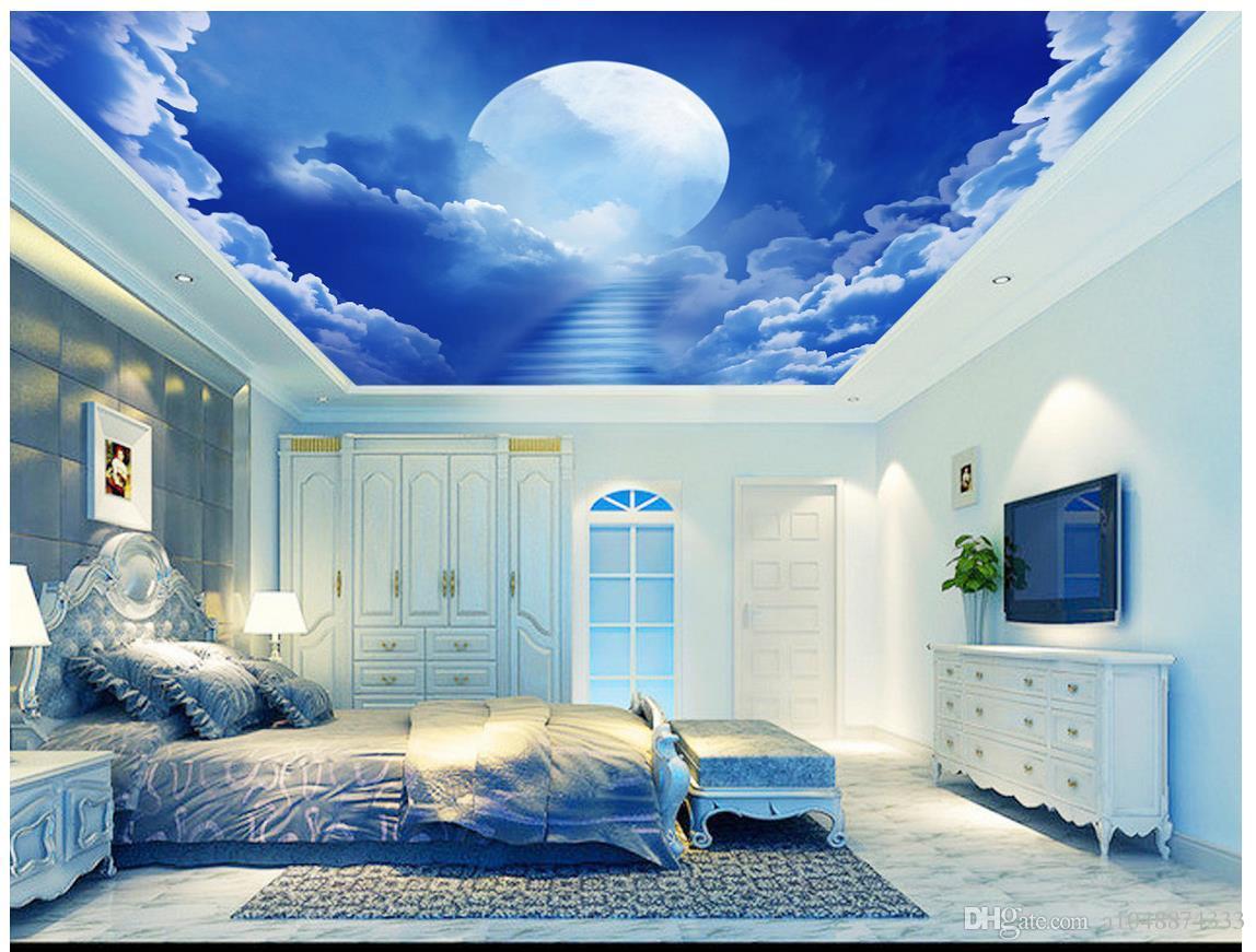 Compre Papel Pintado 3d Personalizado Foto Mural Del Techo 1148x871