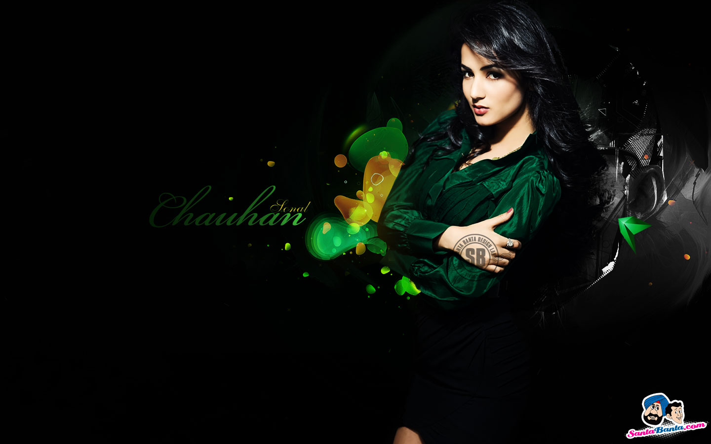 joke space Sonal Chauhan Latest Hot Desktop Wallpapers 1440x900