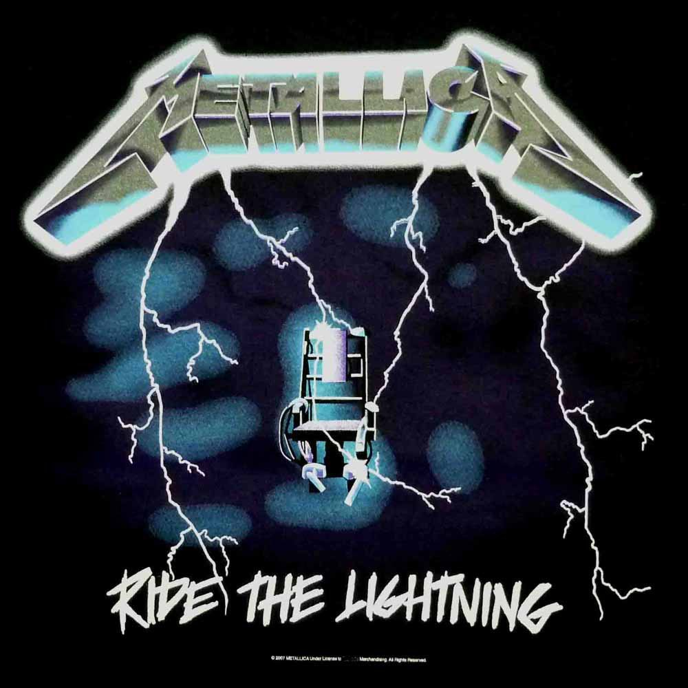 Metallica Ride The Lightning Logo Metallica ride the lightning 1000x1000