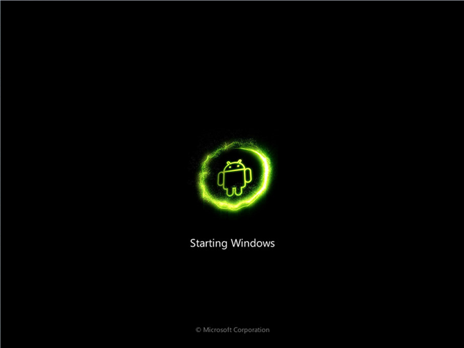 Download] Android Skin Pack Disguises Windows 7 As An Android Launcher 668x501