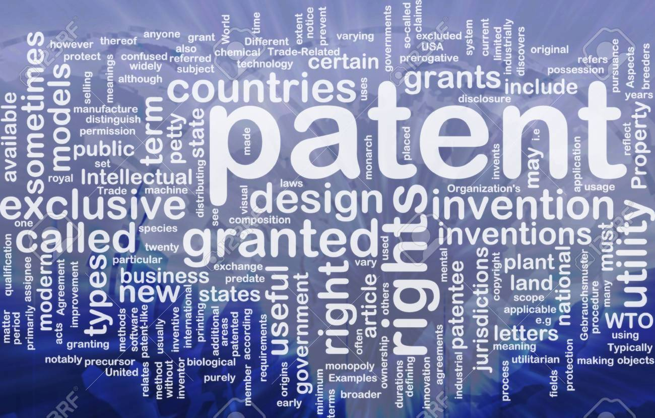 Background Concept Wordcloud Illustration Of Patent International 1300x829