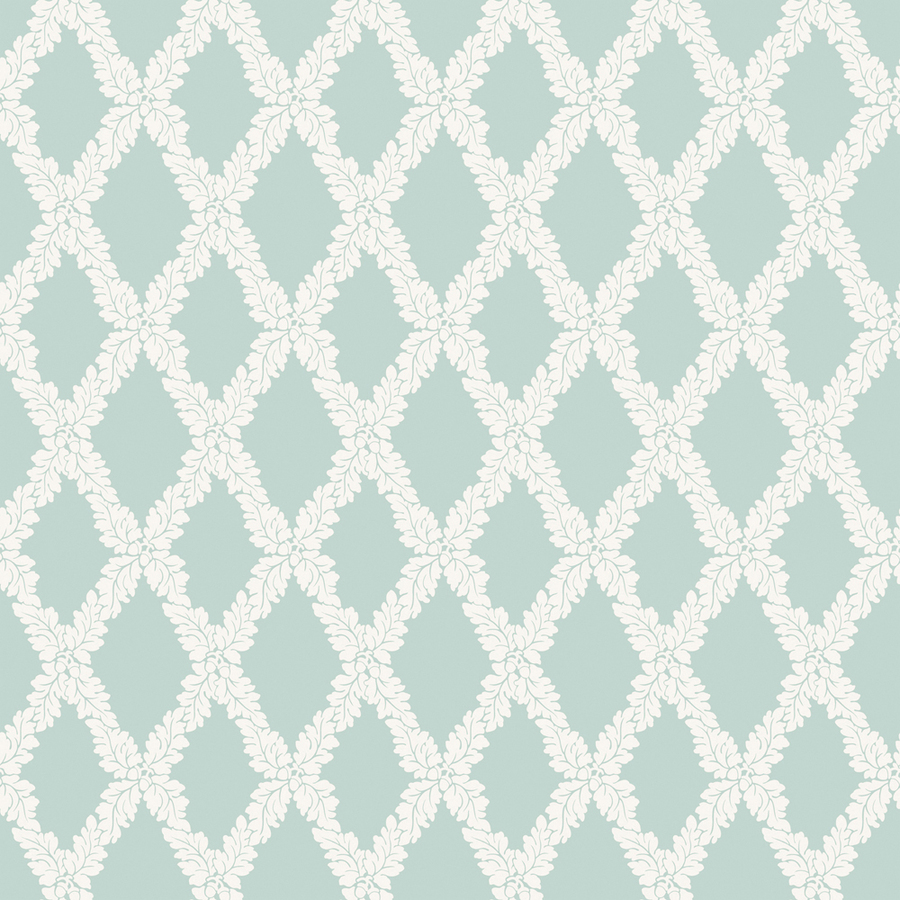 Sanitas Turquoise Strippable Non Woven Prepasted Classic Wallpaper 900x900
