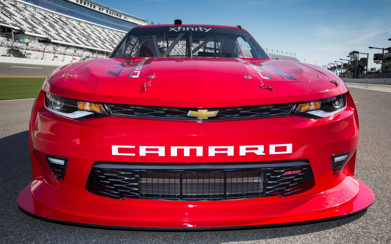 2017 NASCAR XFINITY Series Camaro SS Wallpaper HD Car 1280x800