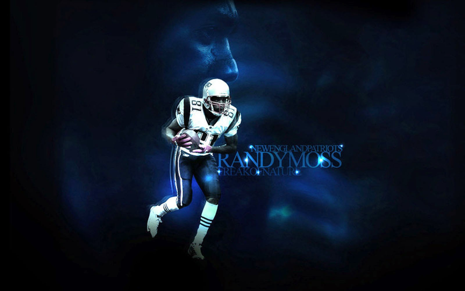 Player Randy Moss Desktop Wallpapers American Football Player 1600x1000