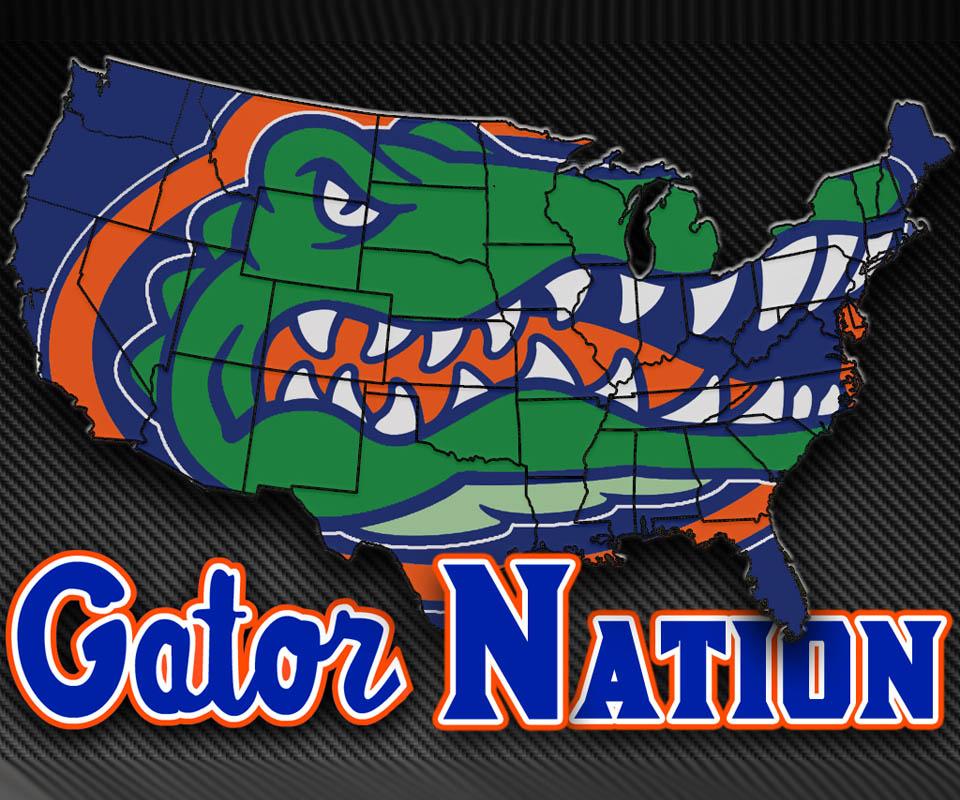 47+] Cool Florida Gator Wallpapers on