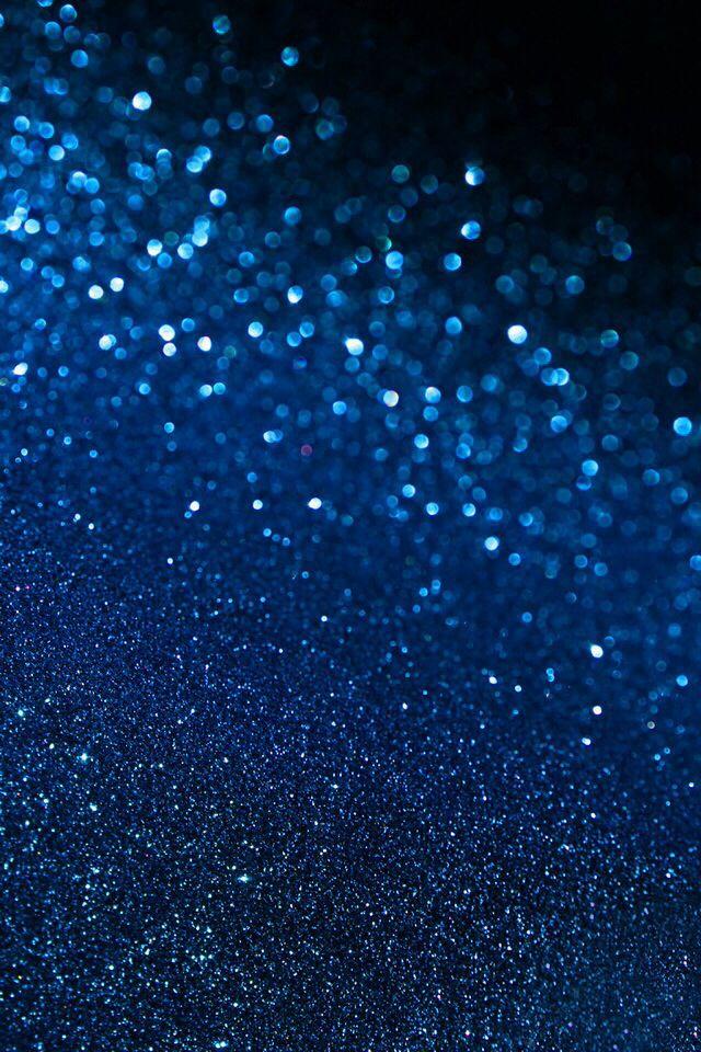 Blue Glitter Wallpaper Blue glitter wallpaper 640x960