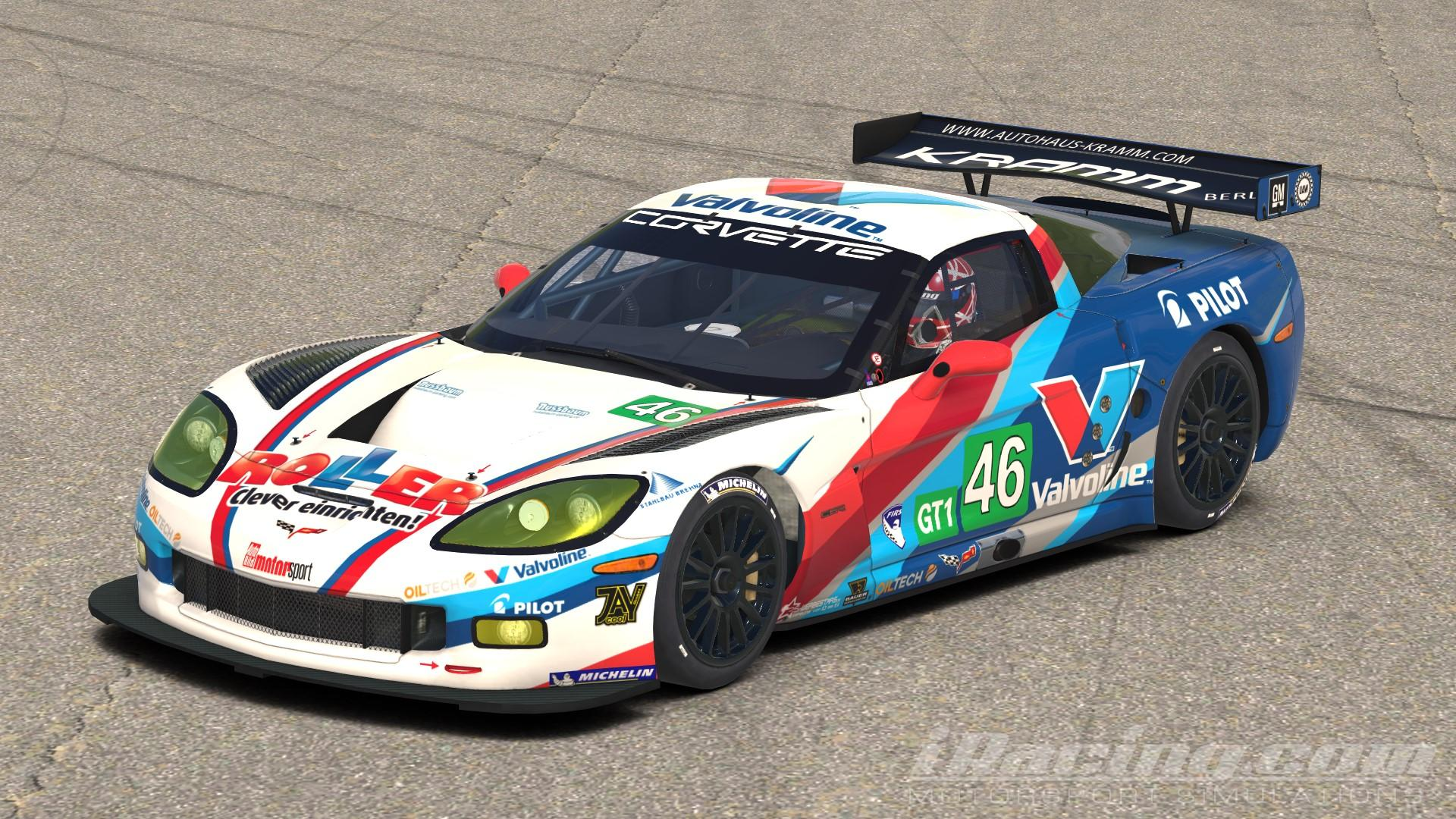 Valvoline Roller C6R by Ken Huff   Trading Paints 1920x1080