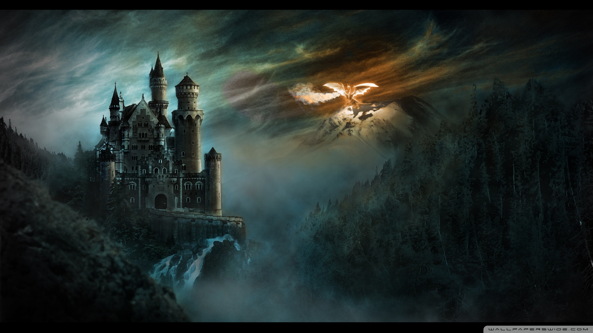 Dragon wallpaper 1920x1080 wallpapersafari - Dragon backgrounds 1920x1080 ...