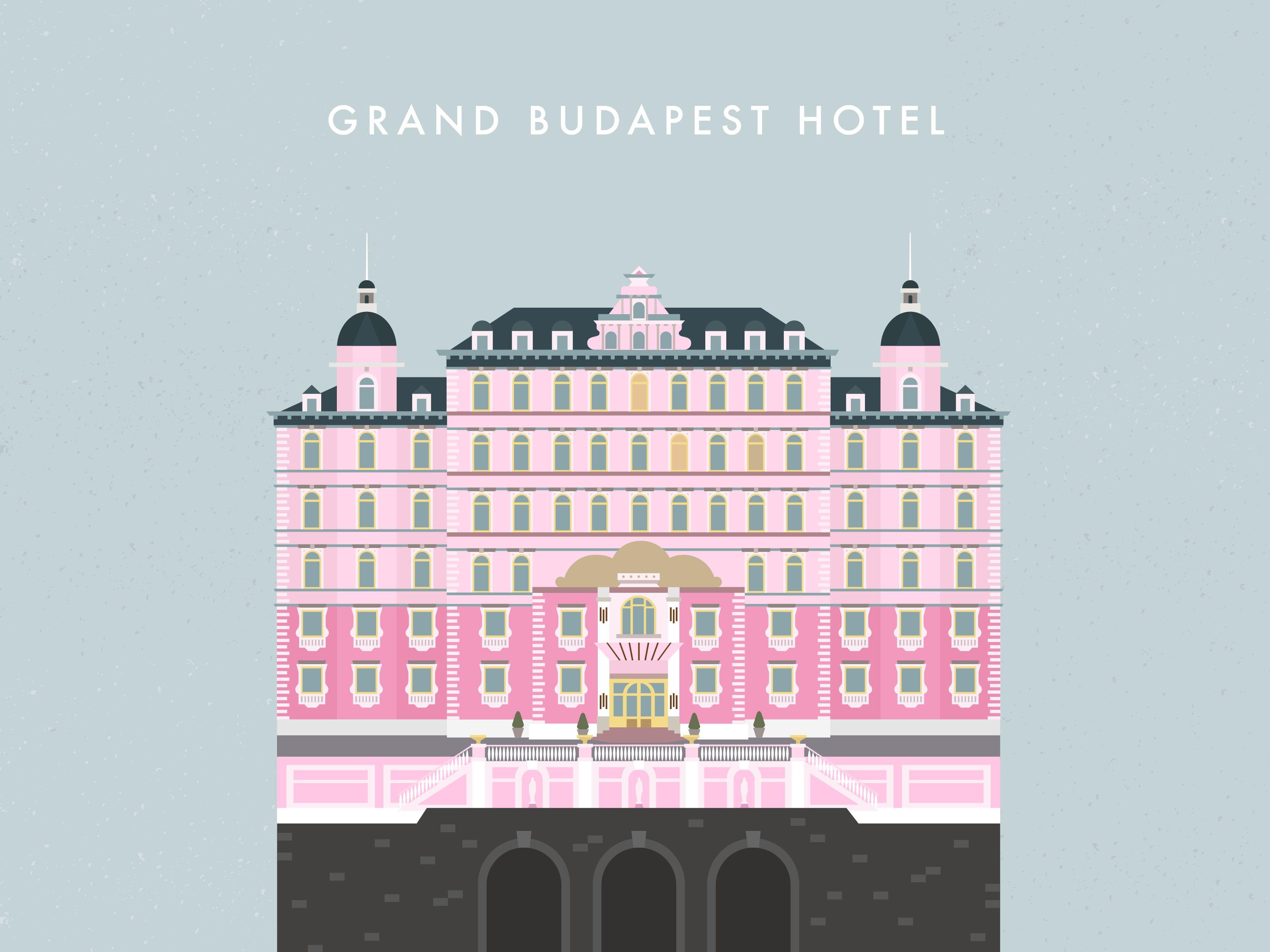 Grand Budapest hotel desktop wallpaper 3333x2500