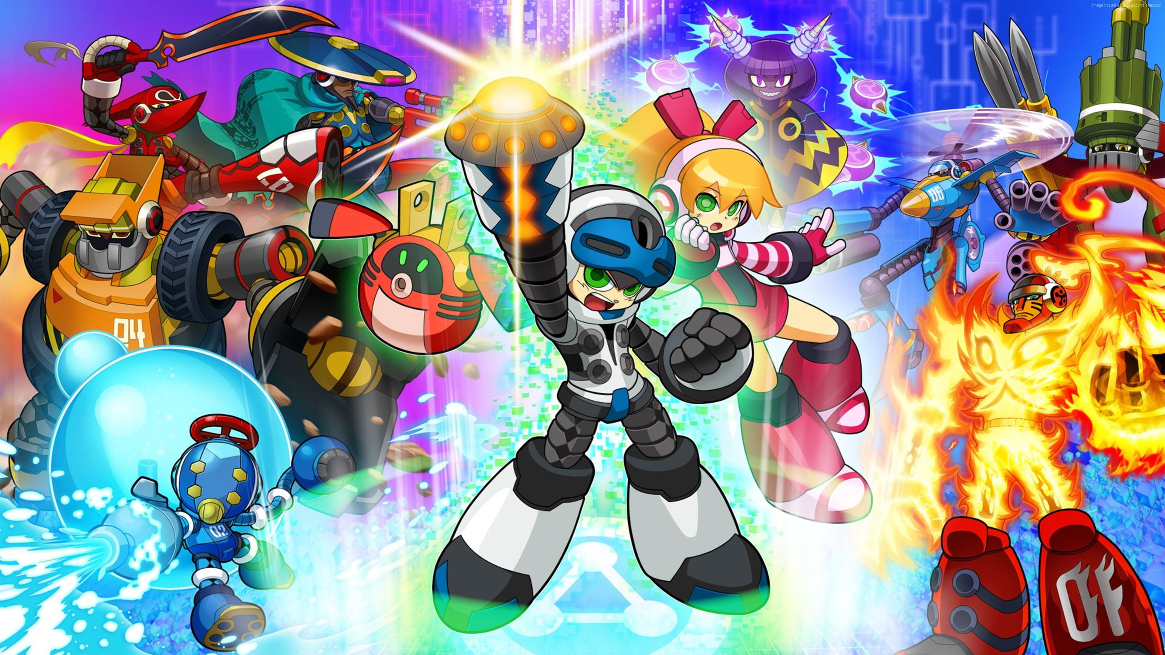 50 Mighty No 9 Wallpaper On Wallpapersafari