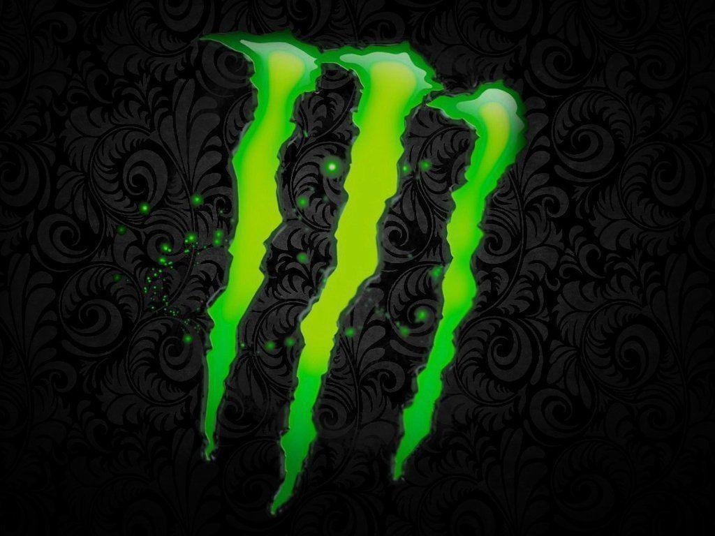 Monster Energy Drink Logo Wallpapers 1024x768