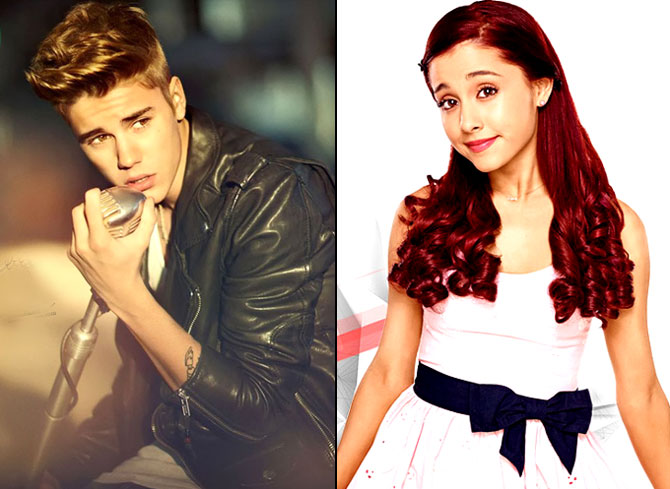 Justin Bieber gets flirty with Ariana Grande on Instagram 670x489