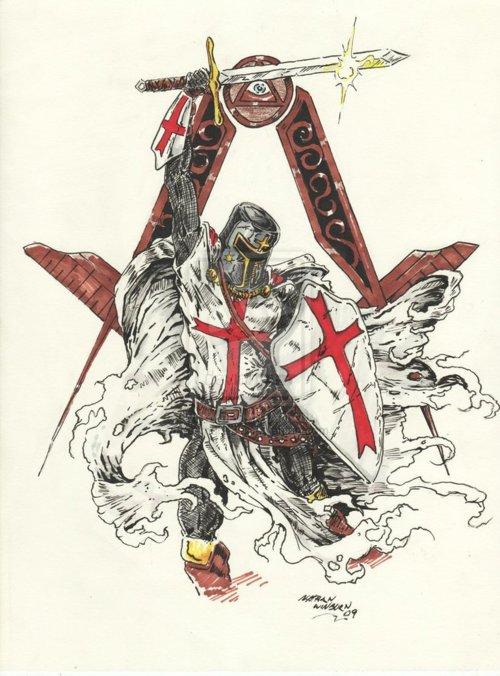 Freemasonry and the Knights Templar by Nathan Wilson 2009 500x676