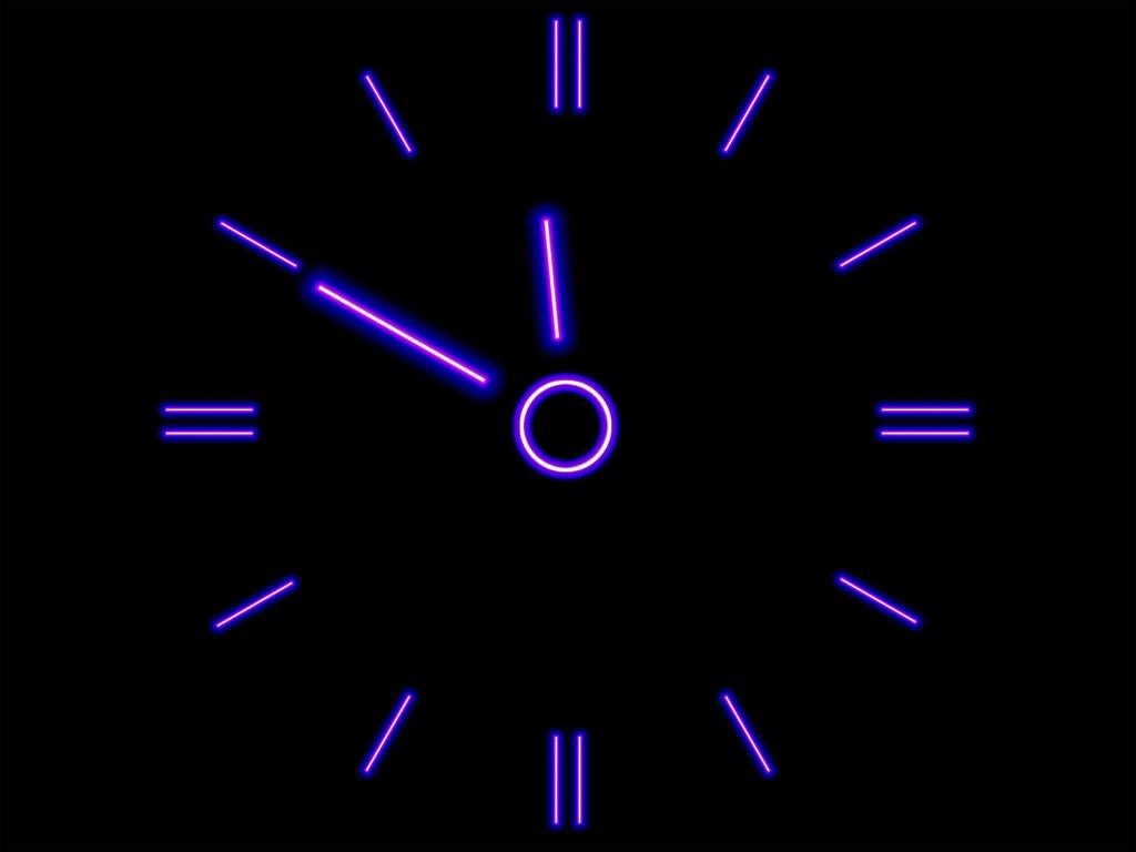 Digital clock wallpaper for pc