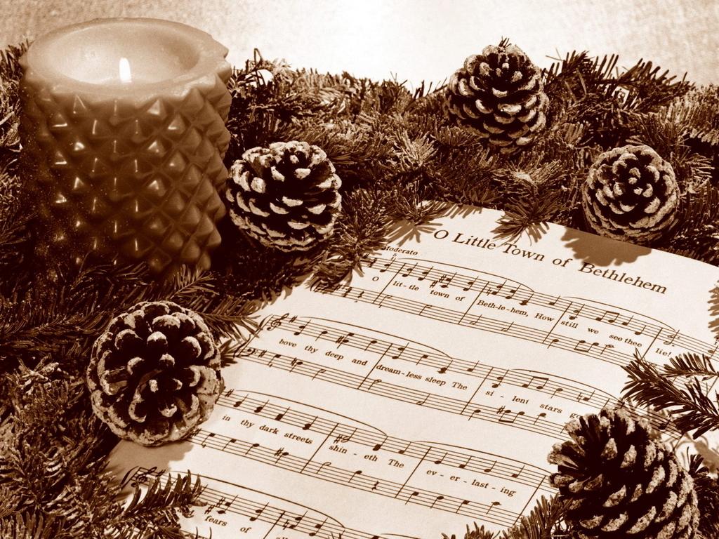 Christmas Music   Christmas Wallpaper 2735928 1024x768
