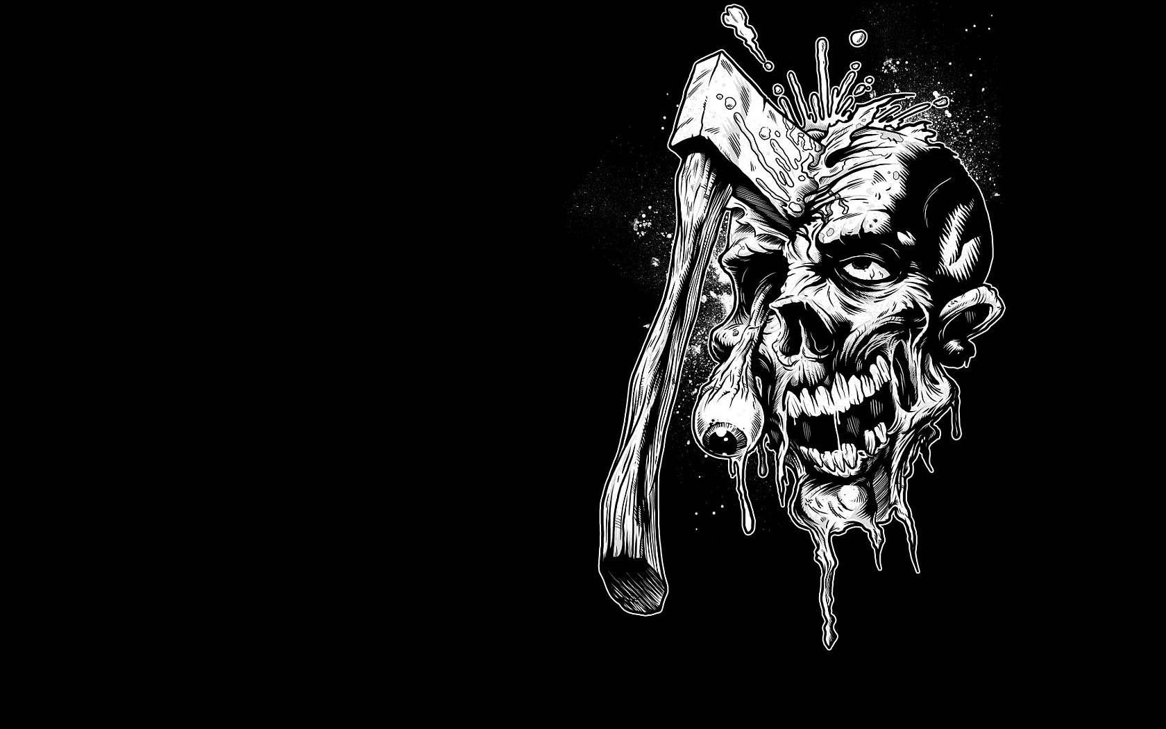 skulls skull download scary bulkupload sizes wallpapers for desktop 1680x1050