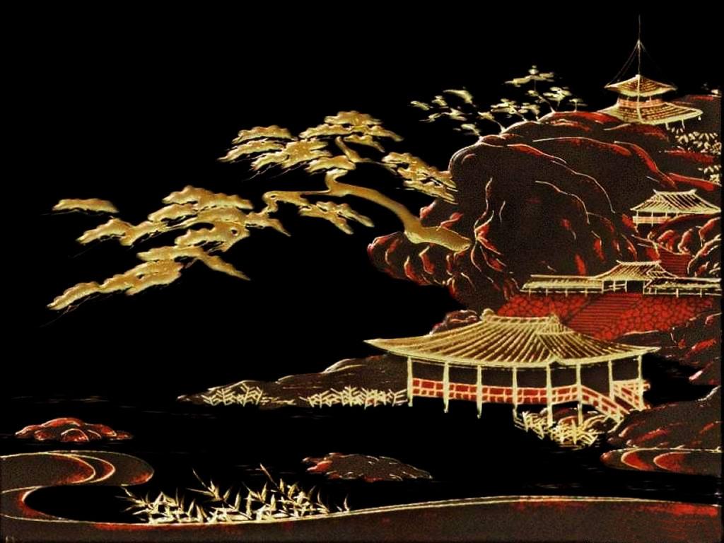 Chinese Village Wallpaper Art Art Wallpaper 1024x768