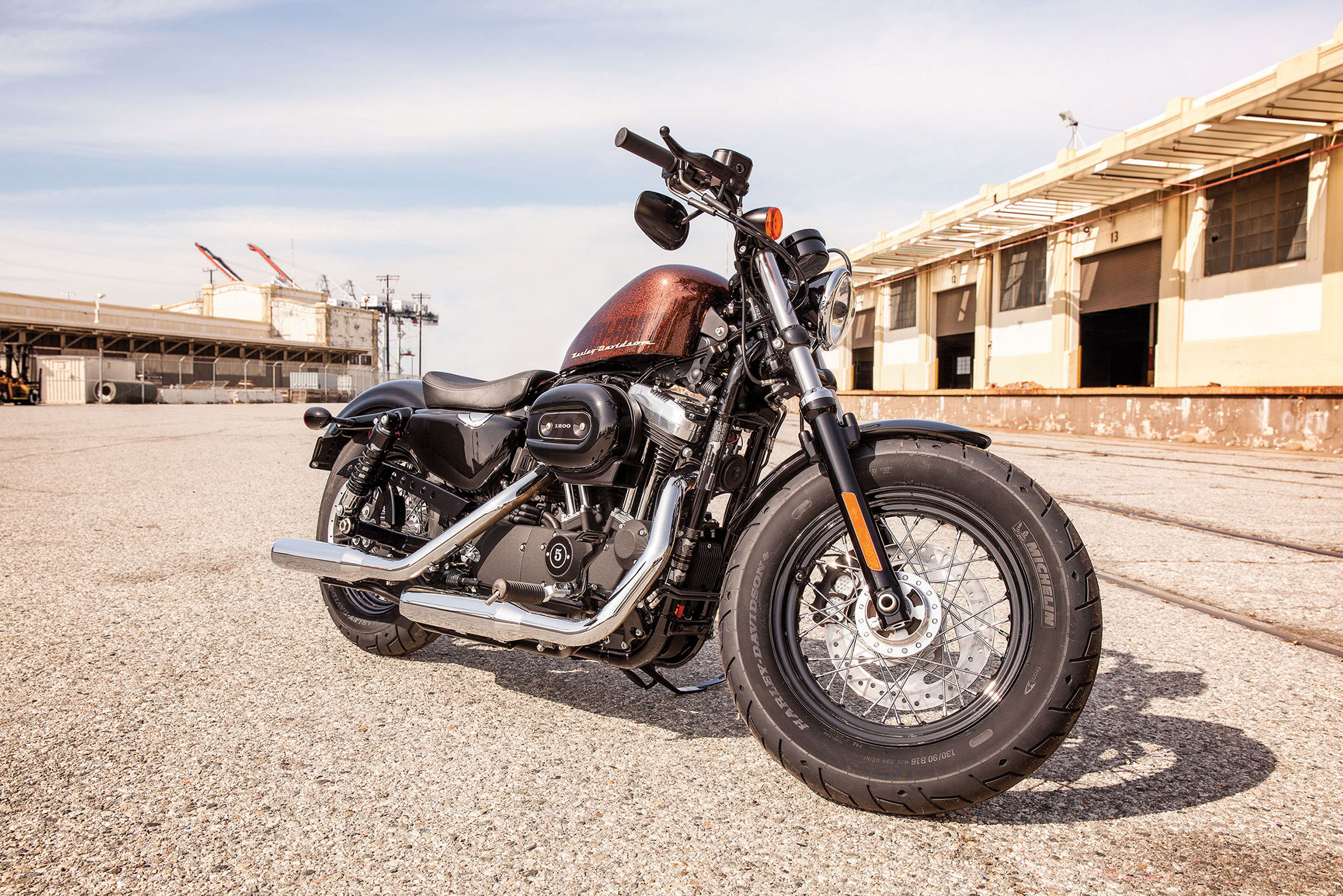 2014 Harley Davidson XL1200X Forty Eight F Wallpaper 2014x1343