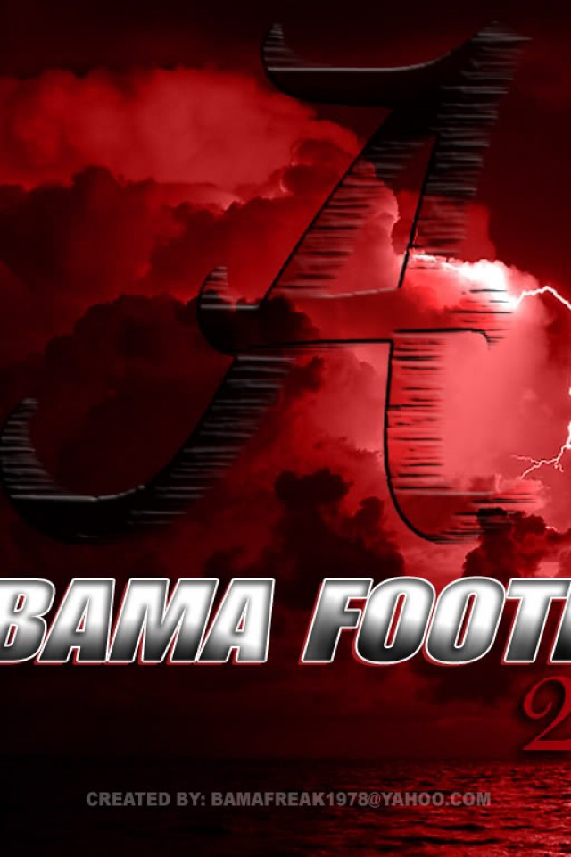 Alabama Football Wallpaper HD Desktop Widescreen Tablet 640x960