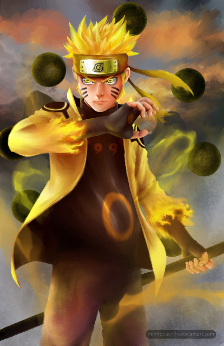 Free Download Naruto Six Paths Sage Mode By Minhquach94 719x1111